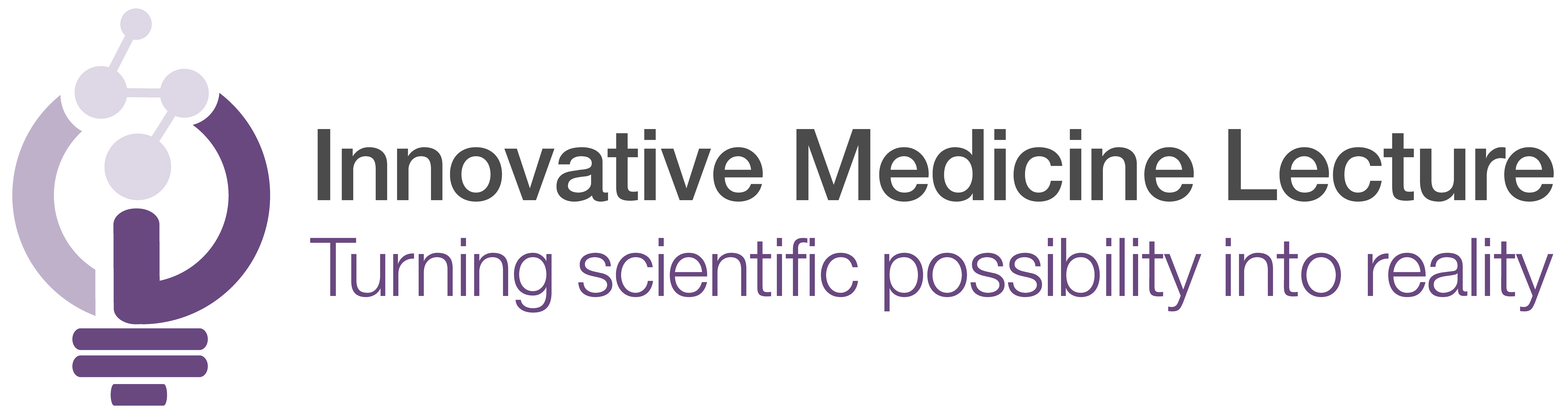 Innovative Medicine Lecture Logo